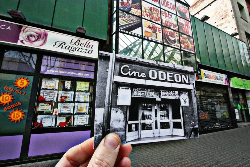 El Mercaodeón desmantellat, antics cines Odeón, podria passar a les mans d'una gran empresa de supermercats // Cristina Pla
