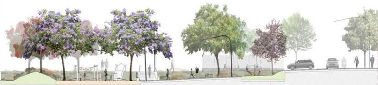 Imatge de l'encreuament del carrer de Residència amb Lanzarote / Bagursa