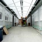 Els barracons del futur Institut Martí Pous
