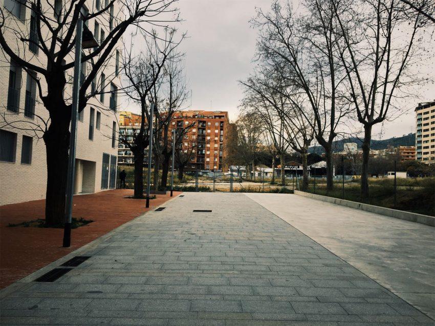 L'obertura del parc millorarà les comunicacions a peu dels veïns i veïnes / David García Mateu