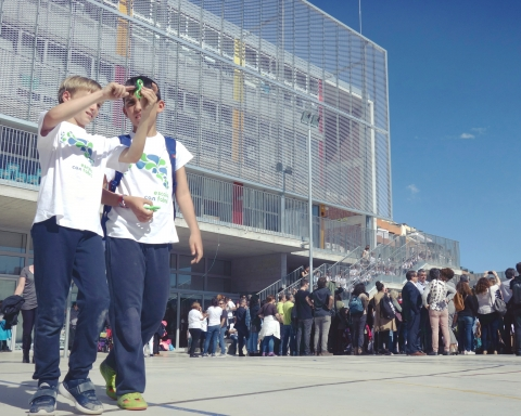 Inauguració Escola de Can Fabra / DGM