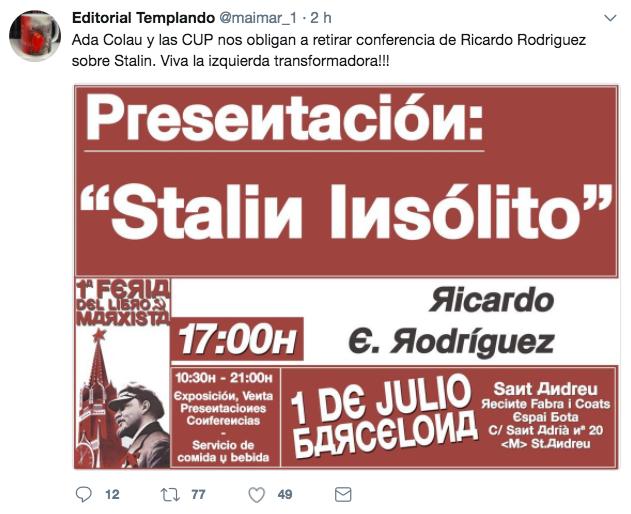 Tuit de Stalin
