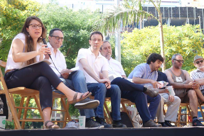 Janet Sanz explica la necessitat de fer una reforma participada / DGM