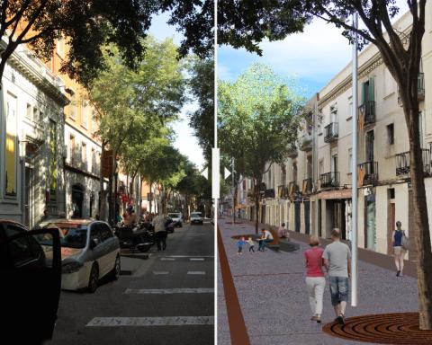 Interactiu carrer Gran de Sant Andreu / AJUNTAMENT DE BARCELONA