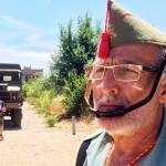 Una persona vestida de legionario / DGM
