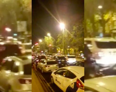 Vídeo de la Meridiana, hores després de l'atemptat a la Rambla de Barcelona / VZ