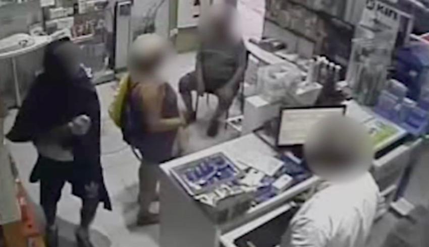 Atracament en una farmàcia / MOSSOS