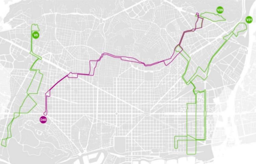 Les quatre noves línies de bus que TMB posarà en marxa / AJUNTAMENT DE BARCELONA