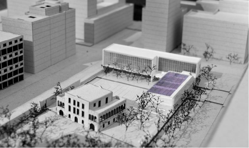 Recreació virtual de com quedarà l'Escola Ignasi Iglésias en finalitzar les obres / CEB