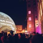 El pati de la Fabra i Coats durant el festival / MIRA