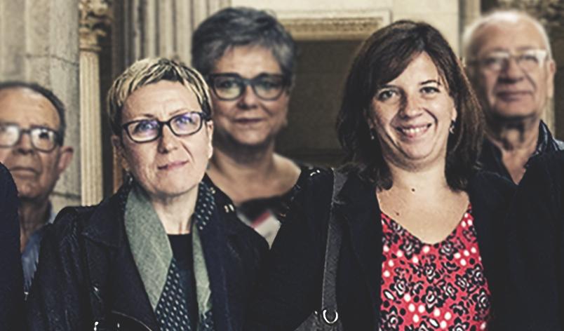 Carmen Andrés, Laia Ortiz AJUNTAMENT DE BARCELONA