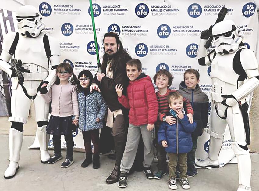 El centre FEDAC Sant Andreu es va avançar a aquest diumenge amb la seva jornada ambientada en Star Wars / AFA FEDAC SANT ANDREU