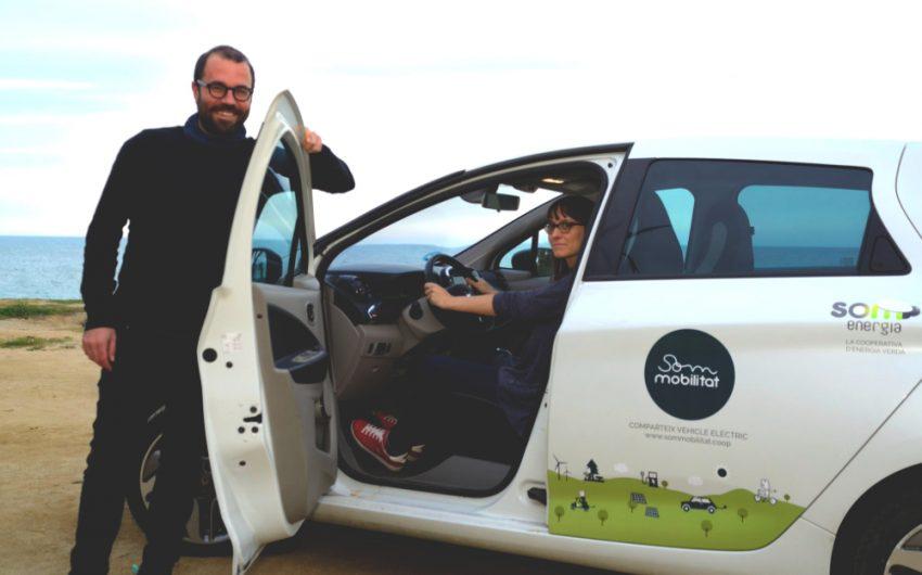 La cooperativa vol impulsar l'ús dels seus vehicles elèctrics a Sant Andreu / SOM MOBILITAT