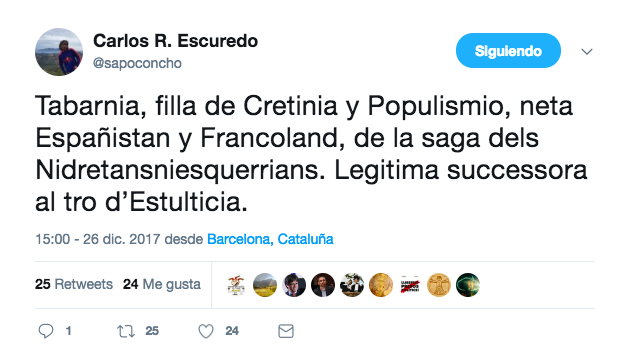 Tuit Carlos Escuredo