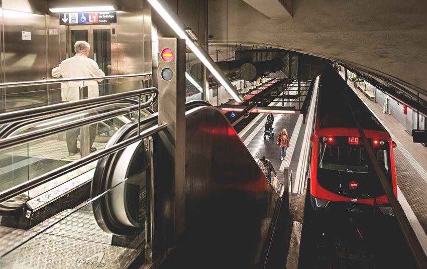 El metro millorarà la seva freqüència de pas substancialment / TMB