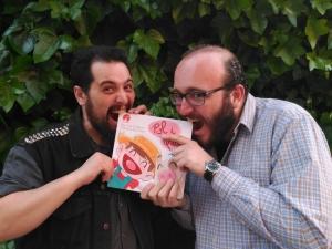 Dani Gómez i Carlo E. Gallucci - il·lustrador i escriptor
