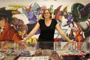 Gemma Domingo - directora de la Biblioteca Ignasi Iglésias - Can Fabra