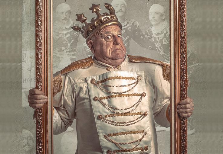 Leo Bassi, en el cartell del seu nou espectacle