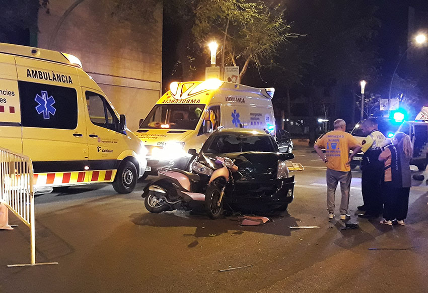 Accident a Torras i Bages / DGM