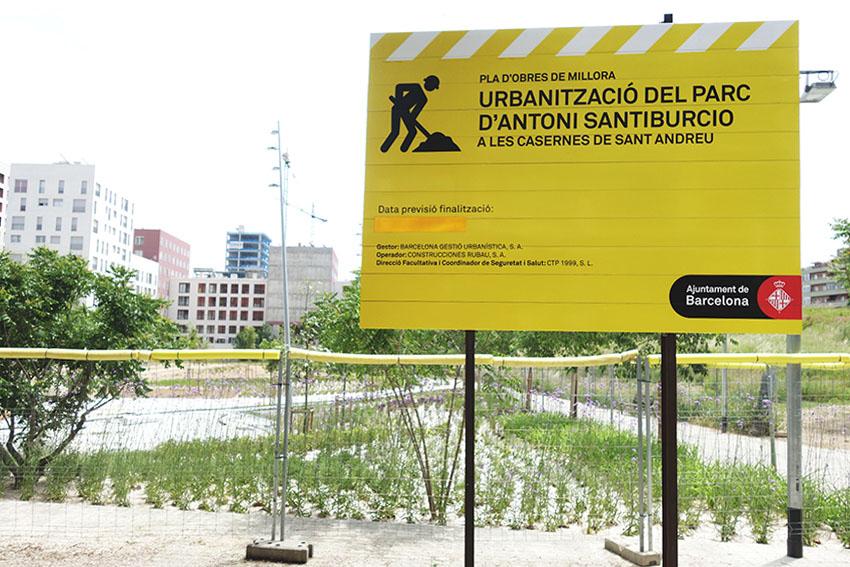 Un imant amaga la data de finalització del parc / DGM