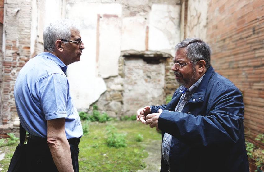 El rector, Josep Soler, i el president del CEII, Jaume Seda / DGM