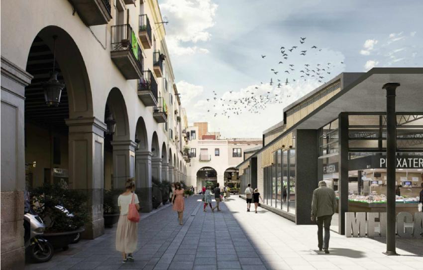Exterior del Mercat de Sant Andreu / IMMB