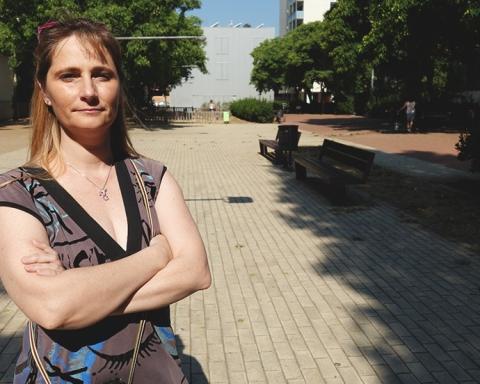 Cristina Galan, presidenta de l'AV de Sant Andreu Sud / DGM