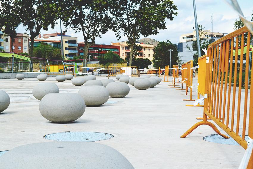 Fonts tancades al Parc d'Antoni Santiburcio / DGM