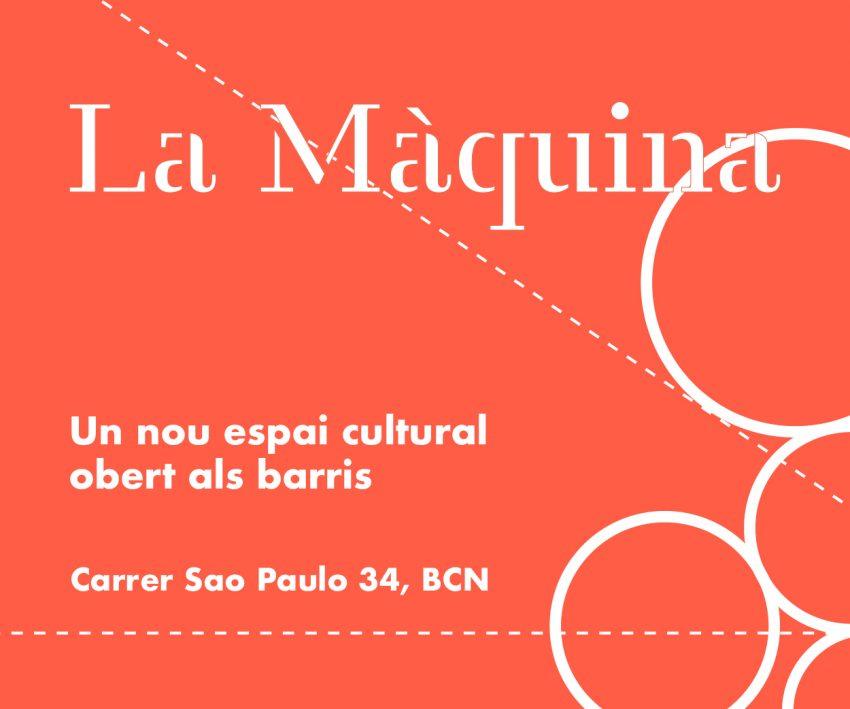 Banner Maquina obert
