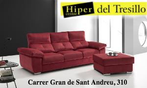 Hiper Center del Tresillo Rojo Sant Andreu