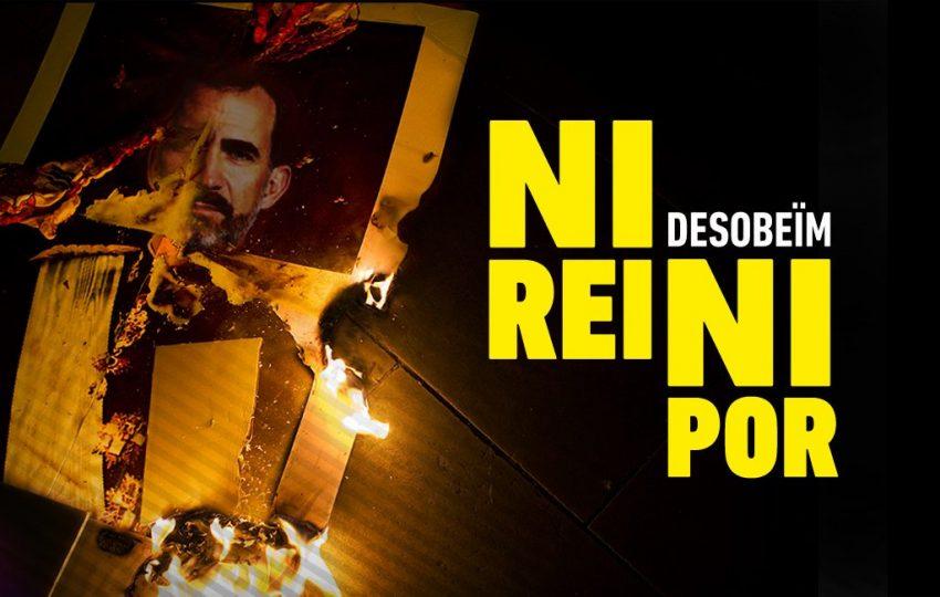 Cartell de la concentrció #NiReiNiPor