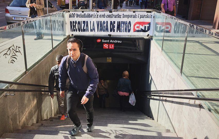 Estació de metro de Sant Andreu L1 / DGM