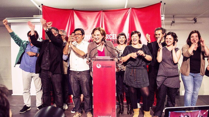 Nit de la victória electoral de Barcelona en Comú / BEC - Flickr