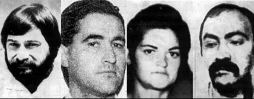 El Comando Barcelona de ETA, formado por Santiago Arrospide, Domingo Troitiño, Mercedes Ernaga, Rafael Caride