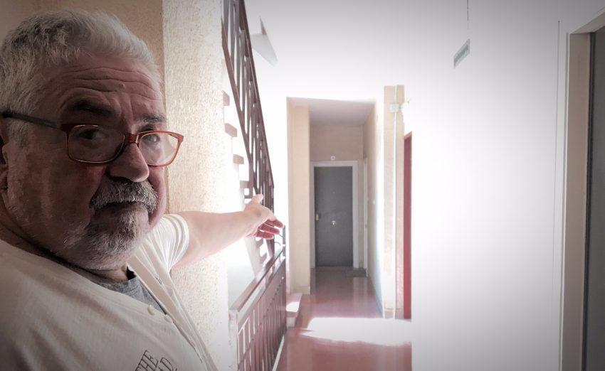 Alfons Romero davant dels robatoris / DGM
