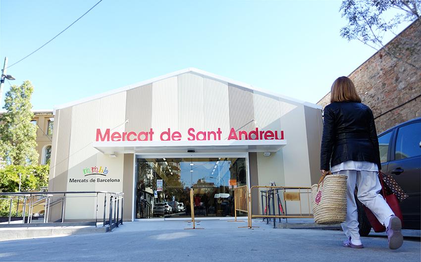 Mercat Sant Andreu carpa provisional David García Mateu.jpg