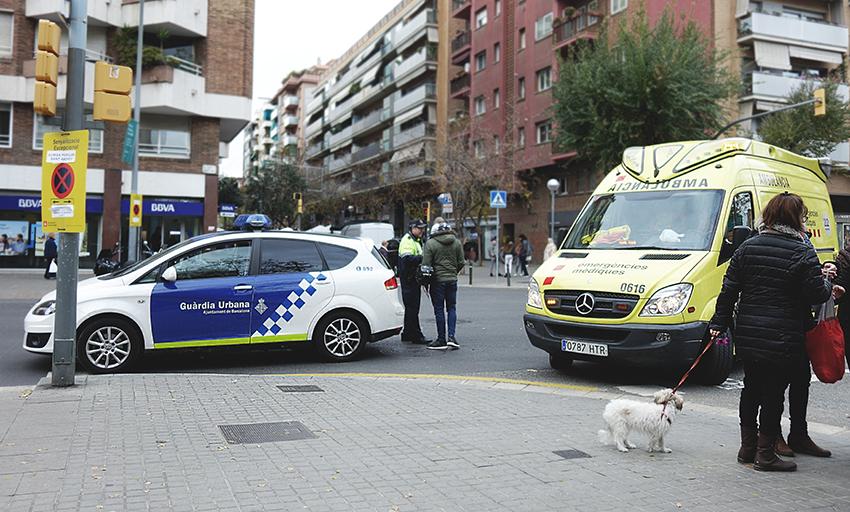 Un accident a Torras i Bages amb Joan Torras / DGM