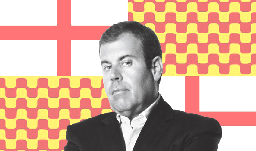 Tomàs Guasch, periodista i ministre d'Esports de Tabàrnia / ARXIU