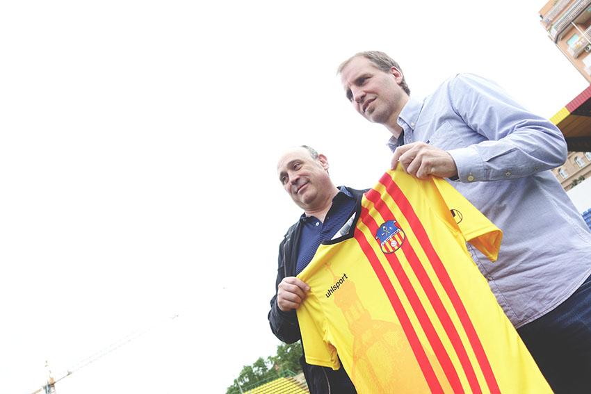 Renovació Mikel Azparren amb la UE Sant Andreu / DGM
