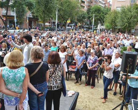La plaça de les Dones de la Motor Ibérica, plena / DGM